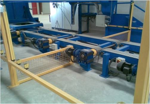 pallet conveyor drive motors